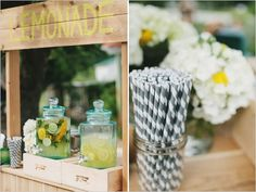 "Everything for your wedding from the moment you said yes, till you say ""I Do""! / lemonade stand"