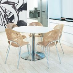Monday Morsel: Trinidad Chair http://www.danishdesignstore.com/products/trinidad-dining-chair-by-nanna-ditzel-manufactured-under-license-in-denmark-by-fredericia-furnitur
