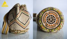 Worki mochilla i wayuu Tapestry Bag, Tapestry Crochet, Knit Crochet, Crochet Bags, Mochila Crochet, Crotchet Patterns, Boho Bags, Clutch, Knitted Bags