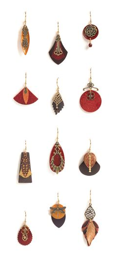 New Jody Coyote Tango earrings! These are so beautiful.