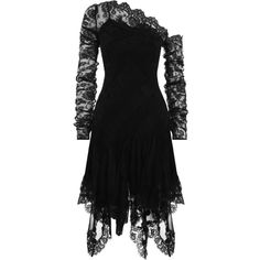 ZIMMERMANN Maples Temperance Dress ($1,975) ❤ liked on Polyvore featuring dresses, lace dress, scalloped dress, ruching dress, lace sleeve dress and ruched dress