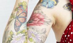 56 Most Beautiful Nature Tattoos