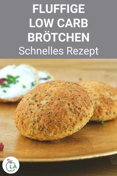 Low Carb Brötchen backen - Gesundes Rezept zum Abnehmen - Low Carb RezepteDo you want to bake low-carb rolls so that you can quickly conjure up a healthy, slimming breakfast in the morning? These carb-free rolls are healthy and can also be used as a Weight Loss Meals, Healthy Recipes For Weight Loss, Healthy Meal Prep, Healthy Dinner Recipes, Low Carb Recipes, Diet Recipes, Chicken Recipes, Losing Weight, Healthy Weight