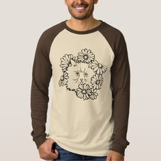 #Color your own Kitty in the Flower Bed T-Shirt - #hallmark #gifts