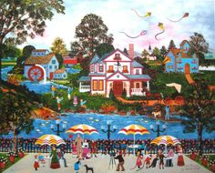 Image detail for -Jane Wooster Scott FAMILY PORTRAIT Hand Signed Limited Ed. Giclee on ...