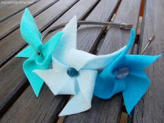 DIY Pinwheel Headbands on I Heart Nap Time