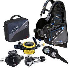 Aqua Lung Pro HD BCD i300 Dive Computer Titan / ABS Regulator Set Reg Bag Scuba Diving Gear Package - http://scuba.megainfohouse.com/aqua-lung-pro-hd-bcd-i300-dive-computer-titan-abs-regulator-set-reg-bag-scuba-diving-gear-package/