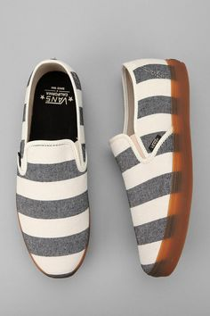 The Best Men's Shoes And Footwear :   Vans California Striped Low Pro Slip-On Sneaker    - #Men'sshoes