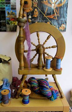 spinning a yarn: on my wish list!