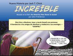 """Increíble es una nueva historieta de Chick Publications, basada en el libro """"As America has done to Israel"""": https://jeremiaselblog.wordpress.com/2016/09/27/increible/"""