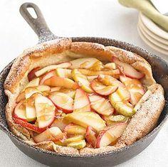 Apple Puffed Oven Pancake #myplate #fruit