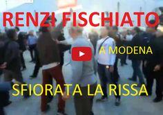 Condividi ora!Condividi ora! Come potete vedere dal video, la contestazione dei lavoratori di Modena al premier Renzi, fischi e urla e intervento delle forze dell'ordine. Sfiorata la rissa. ott 14, 2014passatempoitalia Condividi ora!Condividi ora!