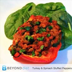 Turkey and Spinach S