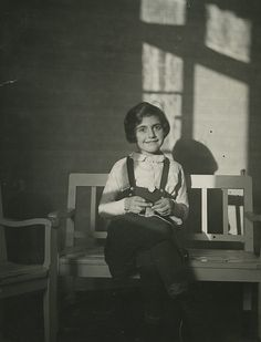 Margot Frank, Photographed in 1932 by her father.
