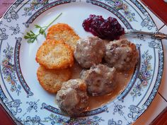 Swedish Meatballs - Kottbullar