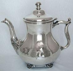 silver teapot poole