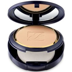 Estee Lauder Double Wear Stay-in-Place Powder Makeup ($40) ❤ liked on Polyvore featuring beauty products, makeup, face makeup, face powder and estée lauder