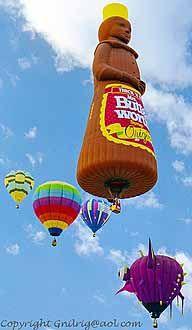 Albuquerque Balloon Festival 2013 | ABQ Mrs Butterworth - Kevin's Travel Journal