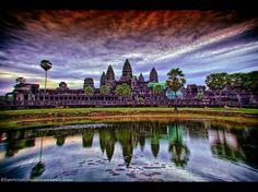 My Distorted View of Angkor Wat, Cambodia