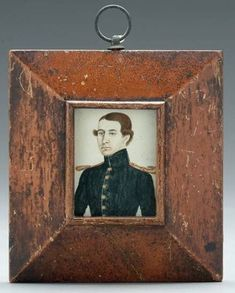 Miniature Portraits, Daguerreotype, Small Paintings, Primitives, Old And New, Colonial, Folk Art, Frames, Objects