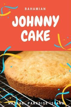 This recipe for Bahamian Johnny Cake is so easy and so versatile! Does not use eggs, can easily make it allergy free by using nondairy subs Bahamian Johnny Cake Recipe, Johnny Cakes Recipe, Johnny Bread Recipe, Bahamian Food, Cake Recipes, Dessert Recipes, Cornbread Recipes, Island Food, Island Bakery