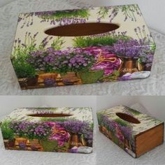 Painted Wood Walls, Painted Boxes, Diy Wedding Buffet, Melting Crayons, Wood Gifts, Diy Box, Tissue Boxes, Box Design, Painting On Wood