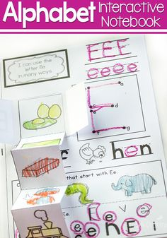 Alphabet Interactive Mini-Notebooks via @lifeovercs