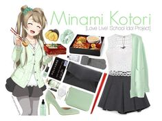 """Minami Kotori [Love Live! School Idol Project]"" by anggieputeri on Polyvore featuring Zara, Ally Fashion, Chinese Laundry, Zad, Accessorize, Rebecca Minkoff, maurices, philosophy, Swatch and Chapstick"
