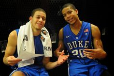 Seth Curry and Andre Dawkins, two of my favs!