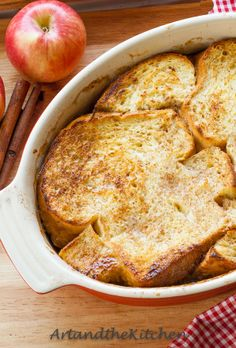 ArtandtheKitchen: Oven Baked Apple French Toast