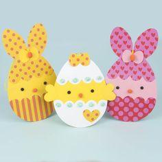 Påskpyssel med papper Easter Bunny, Easter Eggs, Art N Craft, Art For Kids, Pikachu, Kindergarten, Stamp, Mall, Animals