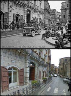 Nicosia - Enna soldati della 1^ Divisione di fanteria USA  28 #Luglio1943