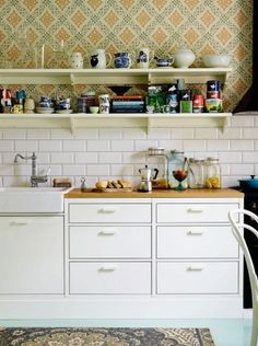 """This amazing kitchen is from our feature """"Perfectly Finnish"""""""