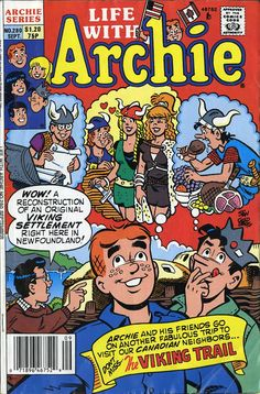 Archie the Gang Visits Newfoundland! Newfoundland Canada, Newfoundland And Labrador, Archie And Betty, Josie And The Pussycats, Betty And Veronica, Archie Comics, Beautiful Places In The World, Comic Book Artists, Vintage Comics