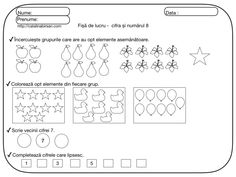 Fise de lucru pentru numerele si cifrele 1-10. – Catalina Bîrsan Peaky Blinders, Kindergarten Worksheets, Preschool, Bullet Journal, Blog, Crafts, Google, 1st Grades, Math Resources