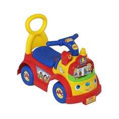 """Fisher-Price Little People Time to Learn Ride-On - Moose Mountain - Toys """"R"""" Us"""