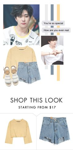 """Choi Youngjae"" by lazy-alien ❤ liked on Polyvore featuring adidas Originals, Chicnova Fashion, youngjae, GOT7 and choiyoungjae"
