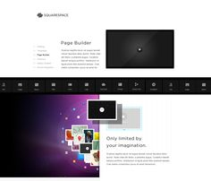 Nice restyling for squarespace...