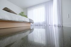 Specialized in concrete floor polishing, our team combines expertise, advanced technique and a thorough approach. Our polished concrete floors are dazzling ! Polished Cement, Polished Concrete Flooring, Best Trade, Heating Systems, The Prestige, Epoxy, Home, Polished Concrete, Underfloor Heating