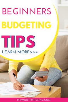 New to budgeting? Here are the best budgeting tips for beginners that you can do to have a successful budget. Budgeting tips saving money ideas. Budgeting tips for college students. Budgeting tips for frugal living. #budgetingtips