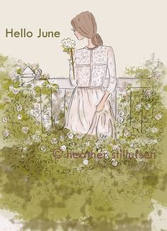 Heather Stillufsen Collection from Rose Hill Designs Rose Hill Designs, Neuer Monat, Edith Holden, Hello June, Positive Quotes For Women, Months In A Year, 12 Months, Woman Quotes, Art Quotes
