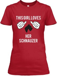 Limited Edition - Schnauzer Lovers!