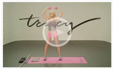 Tracey Anderson's 15 minute workout via Goop