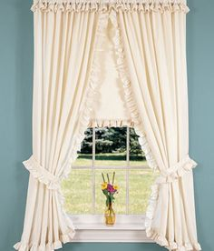 Narrow Ruffles Rod Pocket Priscilla Curtains and Tiers Cottage Curtains, Shabby Chic Curtains, Muslin Curtains, Drapes Curtains, Priscilla Curtains, Newborn Room, Baby Room, Country Style Curtains, Drapes And Blinds