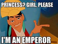 disney meme | the kuzco is a disney princess meme has always bugged me primarily ...