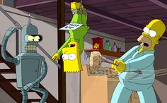Like Sweet Zombie Jesus, Fry & Co. will rise from the dead for one more animated adventure on The Simpsons. The Planet Express crew from...