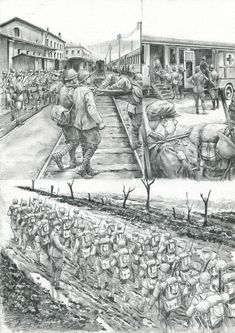 Luciano Ceglia Italian Army, First World, World War, Louvre, Italy, History, Drawings, Illustration, Artwork