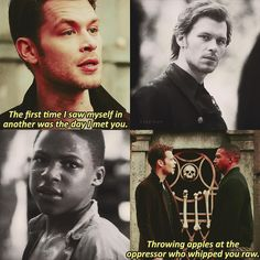 """""""Mi piace"""": 574, commenti: 11 - The Originals ❦ (@klaylope) su Instagram: """"❦ 4x13 ❦ Klarcel is probably my favourite relationship on the show. So much depth, pain, but above…"""""""