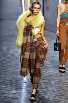 The Sonia Rykiel Fall 2011 Collection is Mad for Plaid trendhunter.com