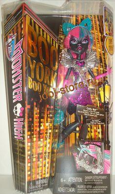 "Monster High Boo York, Boo York City Schemes - Catty Noir fashion doll. Монстер * Монстр Хай, кукла Кетти * Кэтти Нуар из серии ""Бу-Йорк - Городские Интриги"""